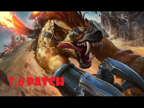Runespirit Warwick vs Elise - Jungle - Victory - Master Tier Korea - patch 7.6 - Season 7