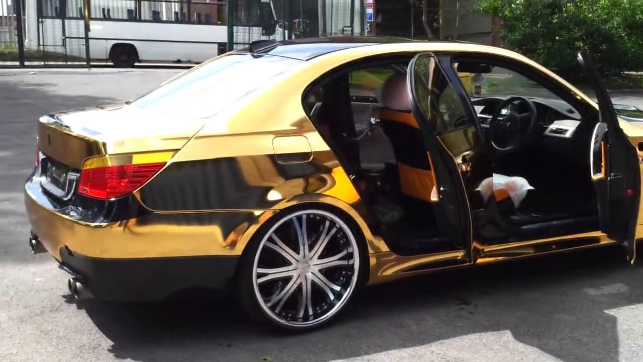 Bmw M5 E60 Black N Gold Hd Youtube