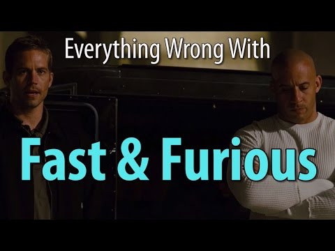 Everything Wrong With Fast & Furious (the 4th one) poster