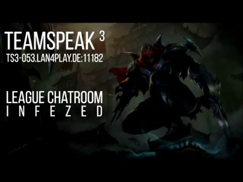 Informationen - Teamspeak, Chatroom und Stream | InFeZed