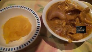 Owoh Soup  Nigerian Food  African Food