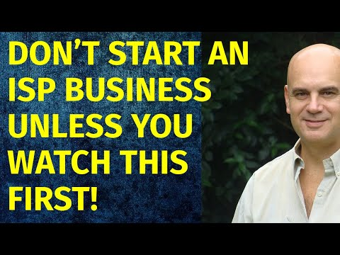 How To Start A ISP Business | Including Free ISP Business Plan Template