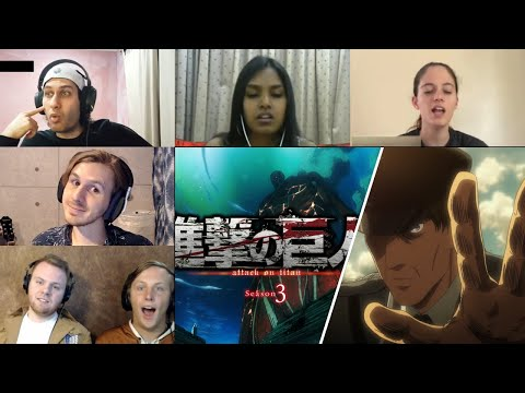 Attack On Titan :Shingeki No Kyojin Season 3 Episode 20 Reaction
