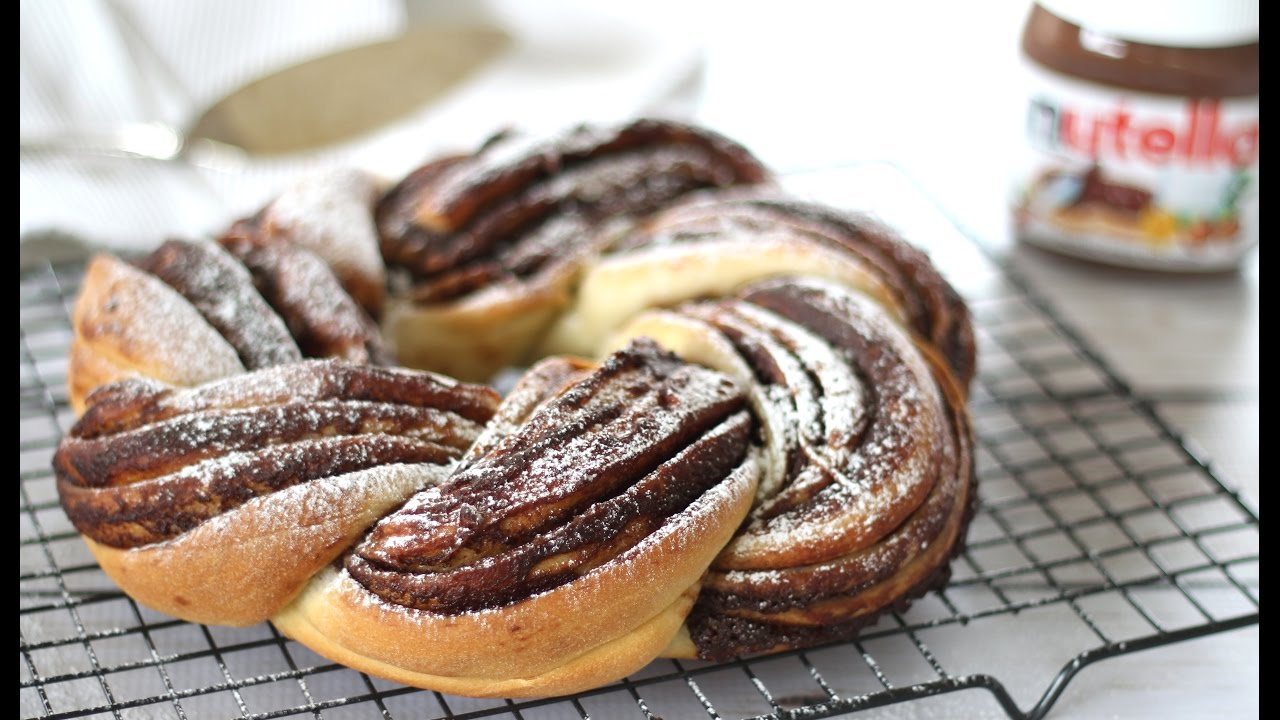 Braided nutella bread easy recipes
