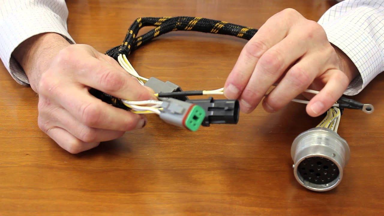 medium resolution of custom wiring harness from cross company