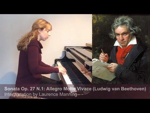 Beethoven Sonata Op. 27 N.1: Allegro Molto Vivace