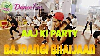 Dance Fun | Choreography | Aaj ki Party Meri Taraf se | Bajrangi Bhaijaan @Mikasingh @salmankhan