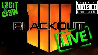 🔴 BLACKOUT - Call of Duty Black Ops 4 - LIVE - PS4 - #FreeStunna - Free to Play !?!