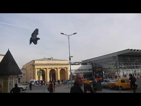 Москва | выход из метро на Курский вокзал и Атриум