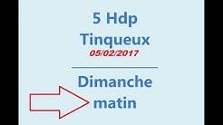 5HDP Tinqueux Dimanche 5 fev 2017 matin