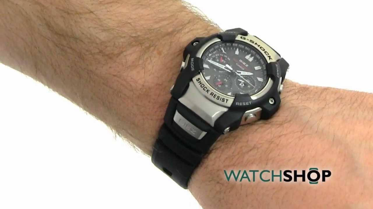 25a3e5817457 Men's Casio G-Shock Giez Alarm Chronograph Solar Powered Watch (GS-1150-1AER)  - YouTube