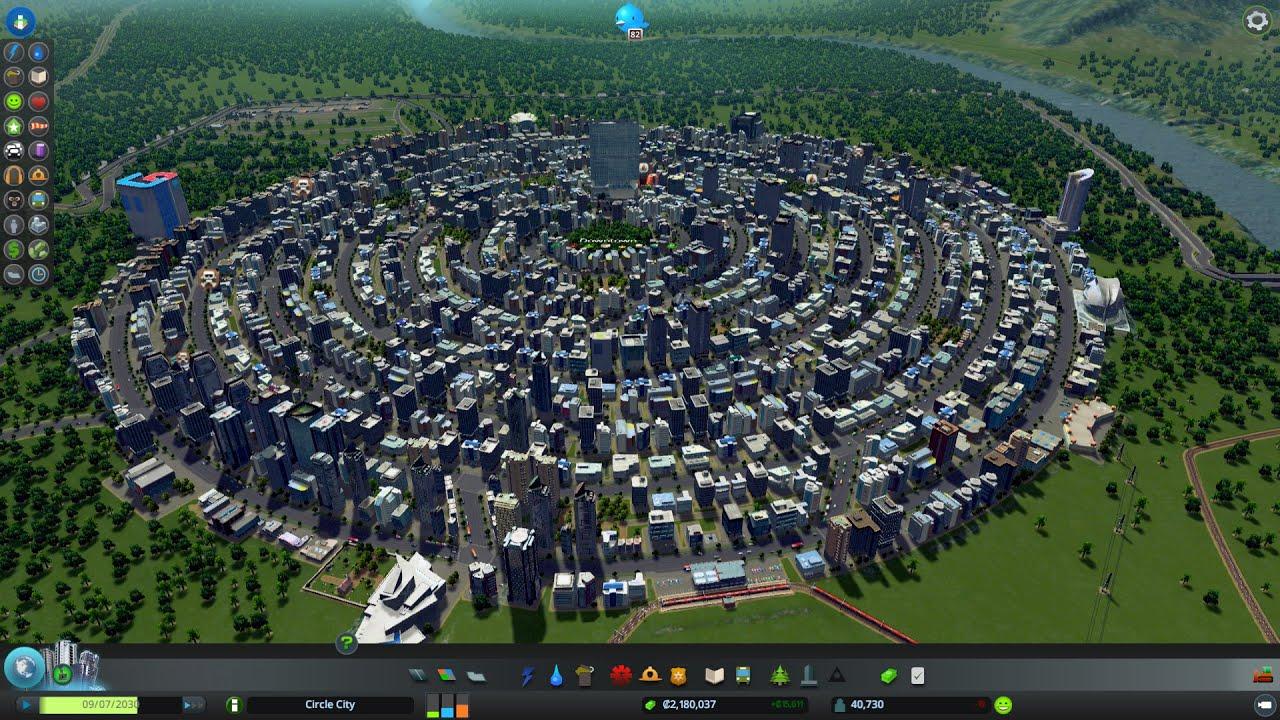 Simcity 5 Design Ideas