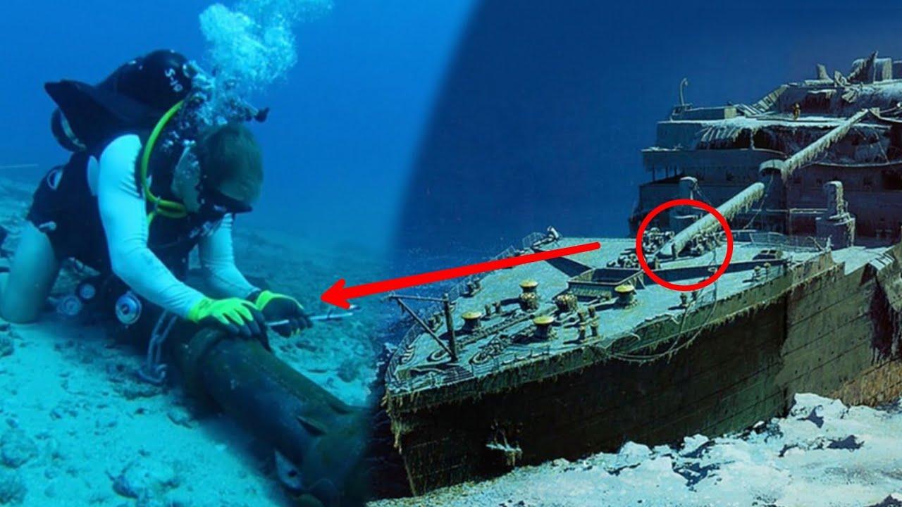 টাইটানিক কিভাবে উদ্ধার হবে সমুদ্রের গভীর থেকে   How to remove the wreck of Titanic   Romancho Pedia