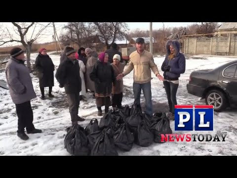 Helping Victims of the Ukraine War: BACK TO VESSOLE WITH MORE AID with a peace bridge distribution