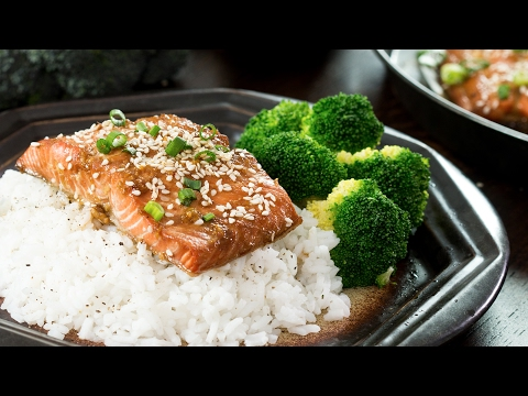 Baked Sesame Salmon Recipe