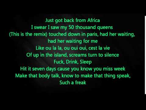 Trey Songz - Foreign (Remix) ft. Justin...