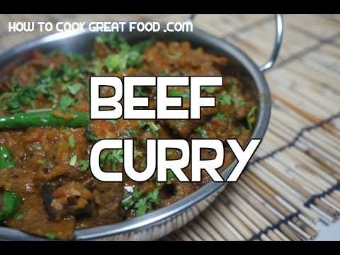 Delicious Beef Curry Recipe Indian Masala Video