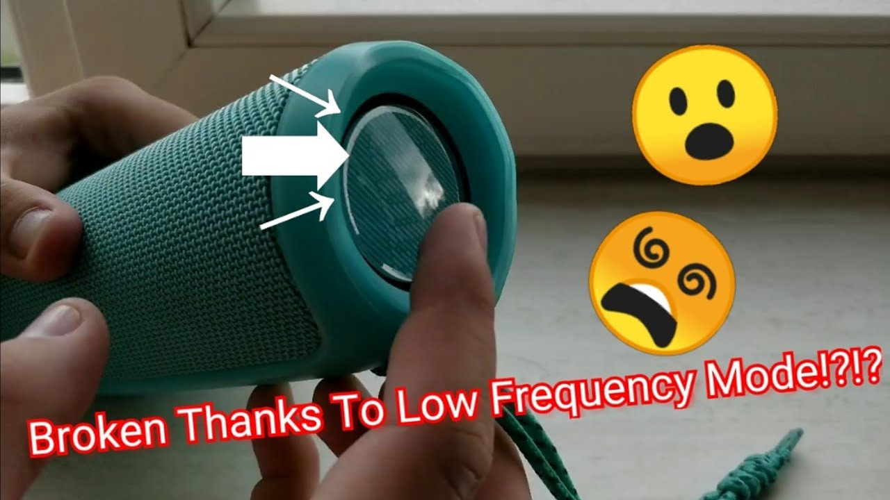 JBL Flip 4 - `BROKEN THANKS TO LOW FREQUENCY MODE?!` most asked question