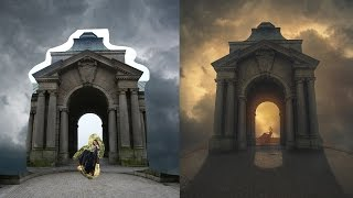 Photoshop Manipulation Tutorial | Photo Effects Enemy Gate