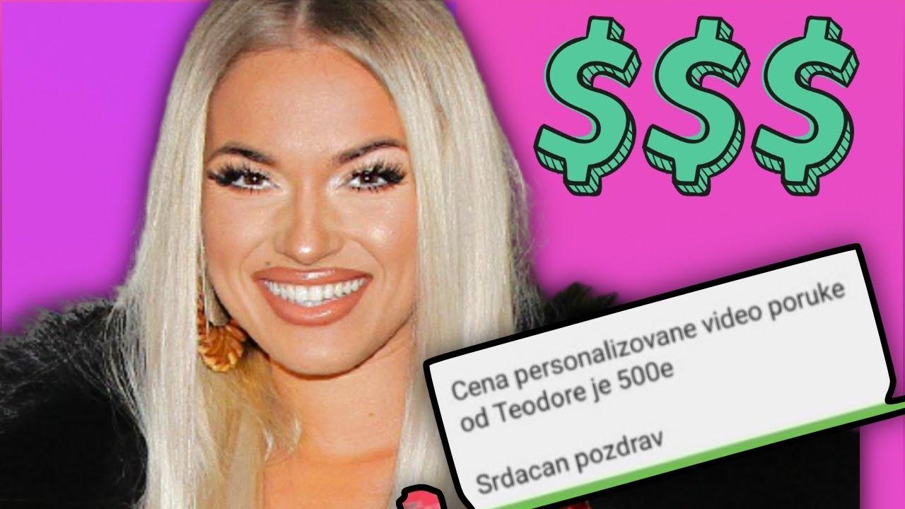 500 € ROĐENDANSKA ČESTITKA? Evo koliko poznati naplaćuju fanovima