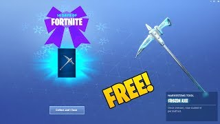 *NEW* FREE FROZEN AXE! (Showcase) 14 DAYS OF FORTNITE CHALLENGES! DAY 11 REWARD