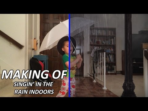 """Making of """"Singin' in the Rain, Indoors"""" (Working Session)"""
