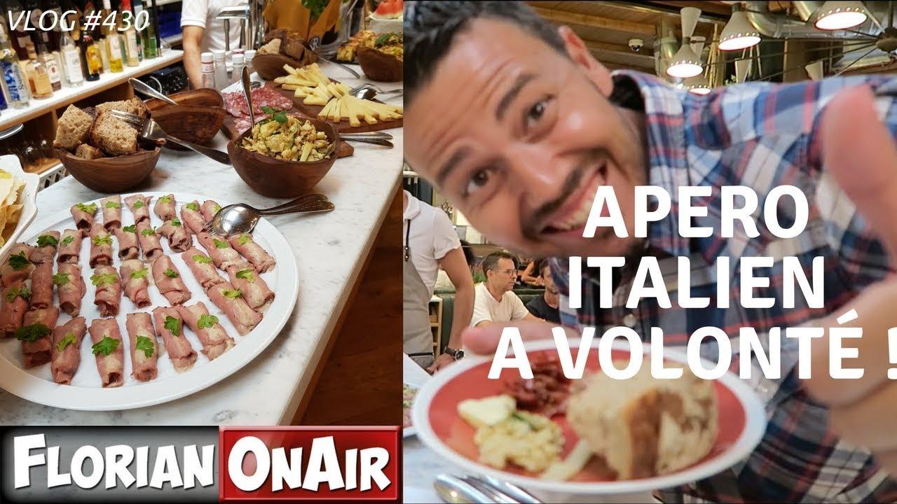Gut bekannt APERO ITALIEN avec ANTIPASTI à VOLONTE ! - VLOG #430 - YouTube WQ43