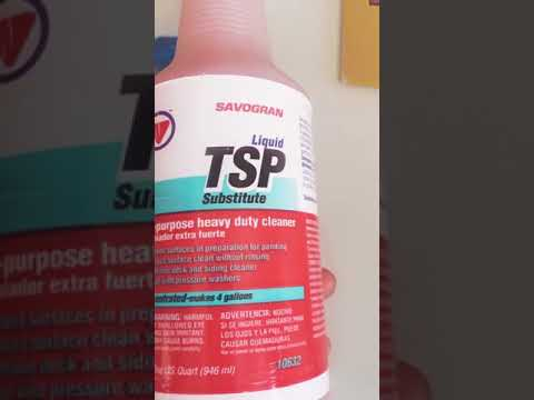 cleaning ceramic tiles with tsp youtube