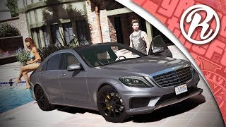 [GTA5] DE MERCEDES-AMG S63 TESTEN IN GTA ONLINE!! - Royalistiq