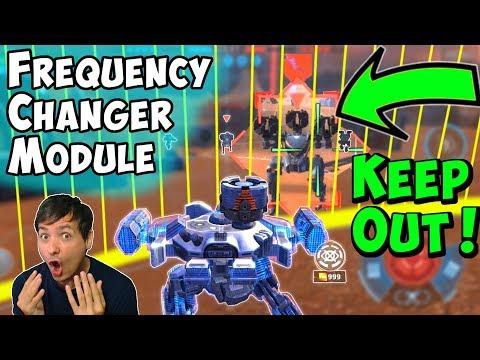 New Frequency Changer Module DARK ZONE Test Server War Robots WR