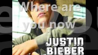Justin Bieber-Where are you now(karaoke)