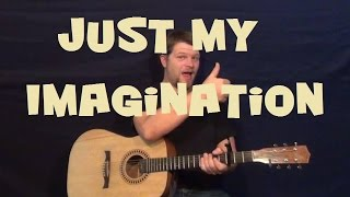 Just My Imagination (The Temptations) Easy Guitar Lesson How to Play Tutorial