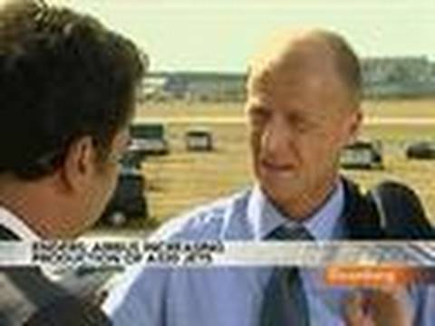 Airbus's Enders Says Short-Range Jets `Bread and Butter': Video