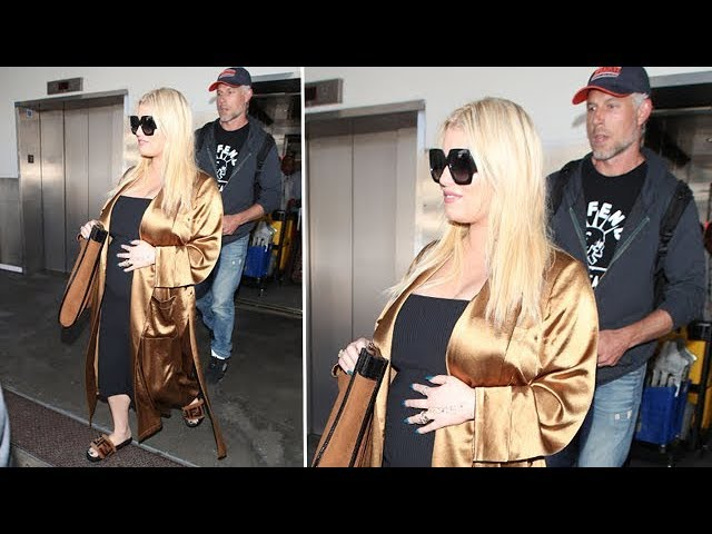 Pregnant Jessica Simpson And Eric Johnson Expecting The New Baby Soon