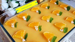 Portakallı Etimek Tatlısı  (şerbeti karemelize)