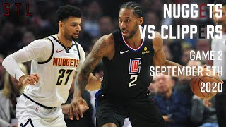 Nuggets vs Clippers HIGHLIGHTS from Full Game | Game 2 NBA Playoffs Round 2 September 5th 2020
