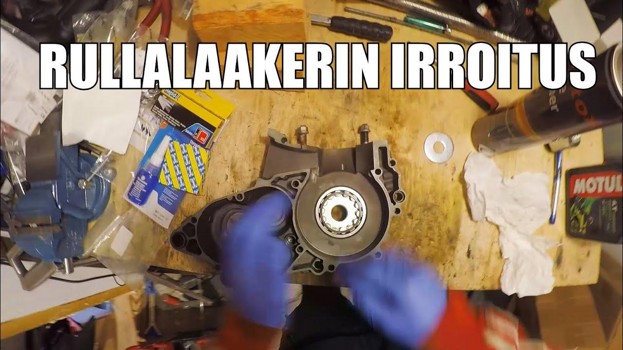 KTM Magneeton Puolen Runkolaakerin Irroitus