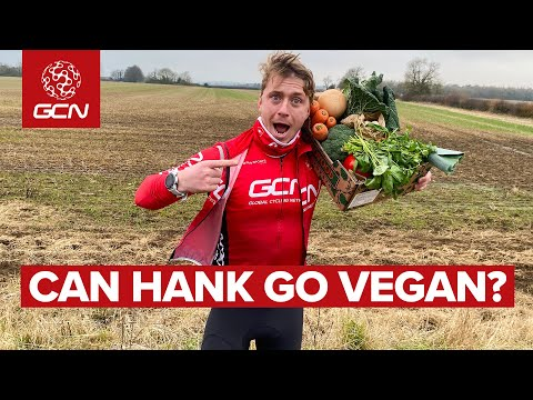 Can Going Vegan Benefit Your Cycling? | Hank Tries Veganuary