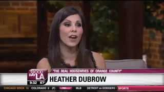 Heather DuBrow on Good Day LA plugs new Quiet Riot documentary