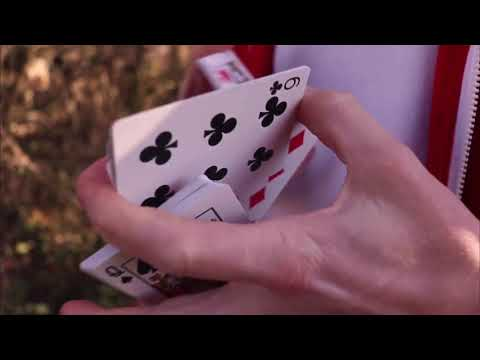 Slow Hands Playing Cards video