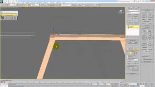 Моделирование летнего кафе Макдональдс - часть 1 - курсы, уроки - обучение 3D Max