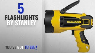 Top 5 Stanley Flashlights [2018]: STANLEY FATMAX SL10LEDS Rechargeable 2,200 Lumen LED Lithium Ion