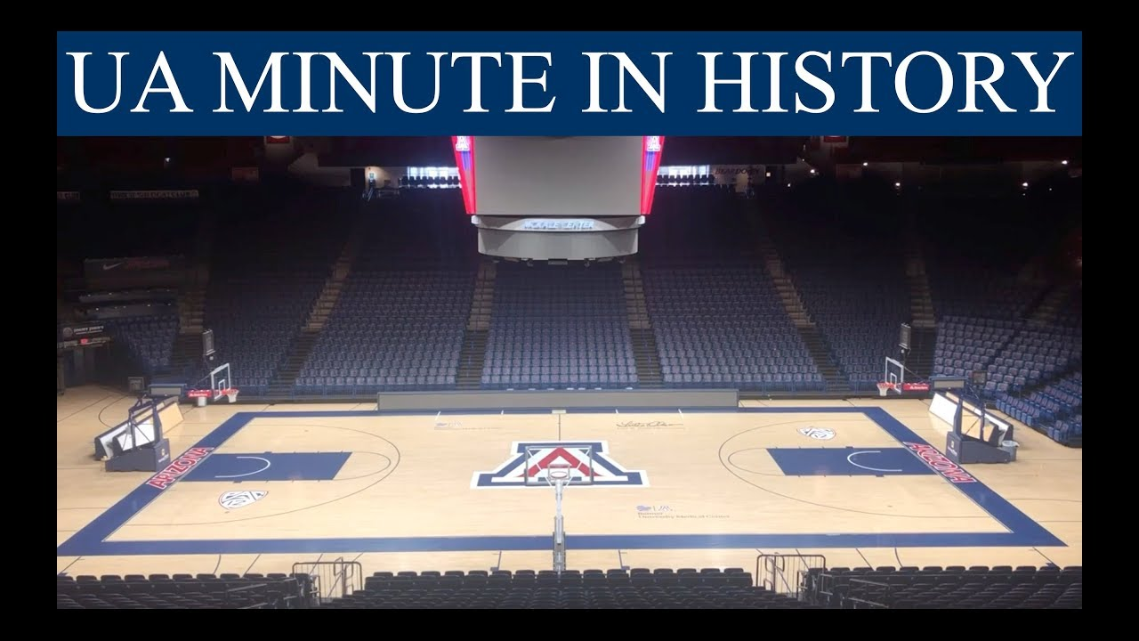 Ua Minute In History Mckale Center The Daily Wildcat