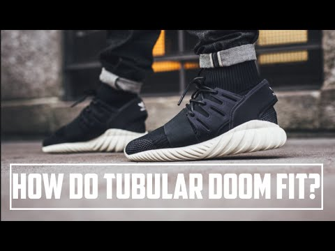 Adidas Tubular Doom Primeknit Shoes