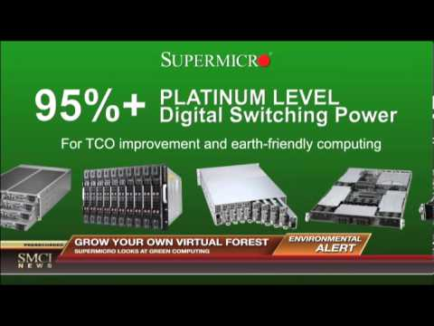 Supermicro Green Computing