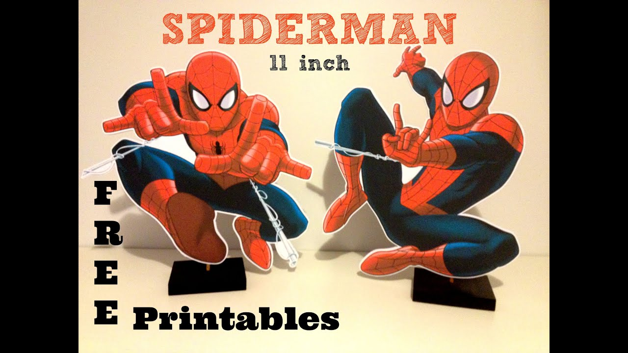 How To Make Spiderman Birthday Party Decorations With FREE