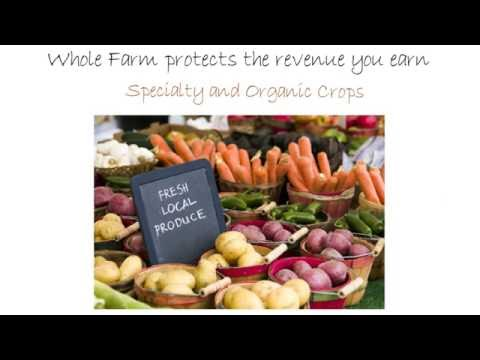 Whole Farm Revenue Protection for Specialty & Organic Crops