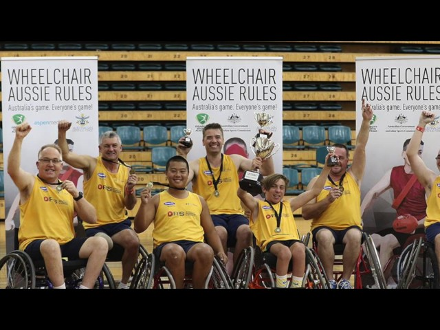 DRSSA Wheelchair Footy Promo Video
