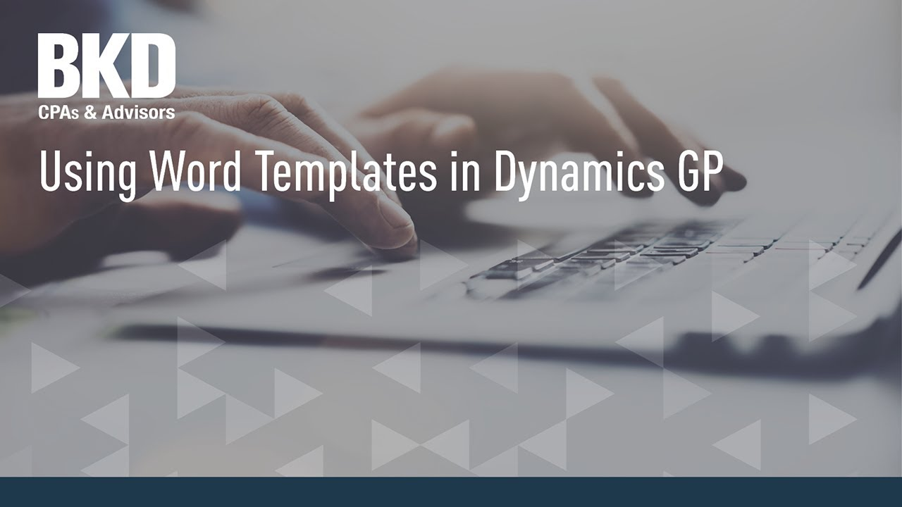 How To Get Invoice Price For New Car Excel Using Word Templates In Dynamics Gp  Youtube Sales Receipt Books 2-part with Open Invoice Login Using Word Templates In Dynamics Gp Office Template Invoice Pdf