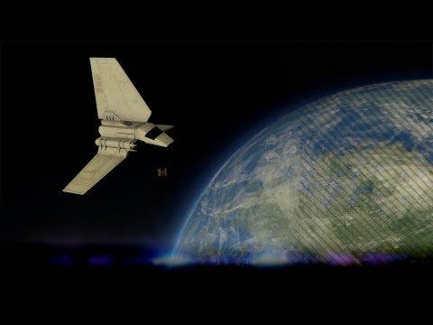 Vliegen met ruimteschepen & Planeten verkennen - Space mod (Grand Theft Auto V)